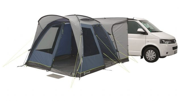 Outwell MILESTONE PRO Drive Away Awning, Campervan Caravan Motorhome Awning - Grasshopper Leisure